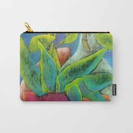 Misty Potted Plant Carry-All Pouch