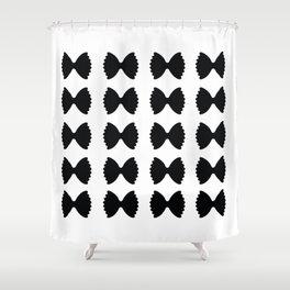 Pasta Series: Farfalle Pattern Shower Curtain