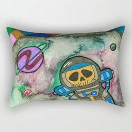 Muerte Espacial Rectangular Pillow
