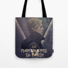 David Bowie The man who fell to earth Tote Bag