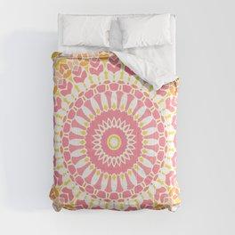 Strawberry and Lemonade Mandala Comforters