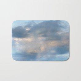 Abstract clouds Bath Mat