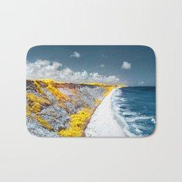 Cliff Panorama Photo Print Bath Mat