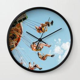 Wonderland swing Wall Clock