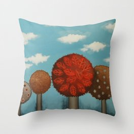 Dream grove Throw Pillow