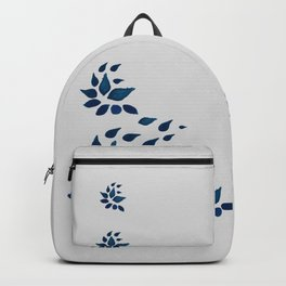 leaves in a field Backpack