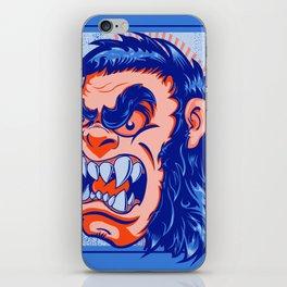 The Bigfoot Gorilla iPhone Skin
