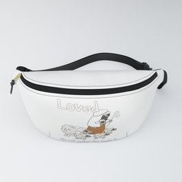 Christian Design - Loved Sheep with the Good Shepherd Fanny Pack