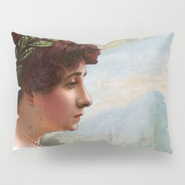 Escaping out of Pompeii Pillow Sham