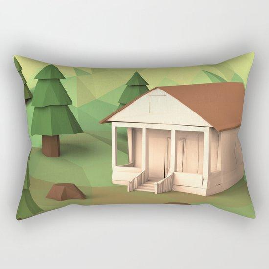 Cabin Rectangular Pillow