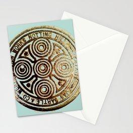 bronze relic, london, circa 2015 Stationery Cards