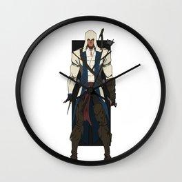 Ratonhnhaké:ton Wall Clock