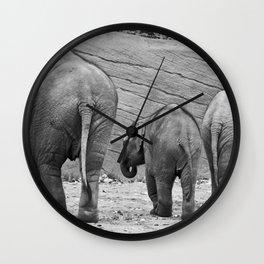 Ihr Mich Auch Wall Clock