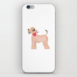 Wheaten Terrier iPhone Skin