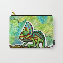 Chamaleon Pattern Carry-All Pouch