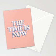 The Time Is Now Stationery Cards