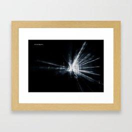 Explozoom on a famous basilica Framed Art Print