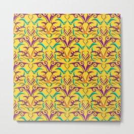 Tribal Pattern 1 Metal Print