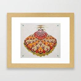 angel butterfly Framed Art Print