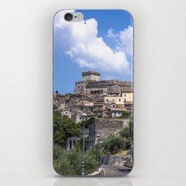 The Castle of Sermoneta iPhone Skin