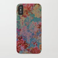 vintage floral iPhone & iPod Cases featuring vintage floral by clemm