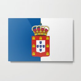 Portugal Flag Metal Print