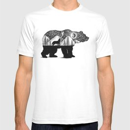 THE BEAR AND THE WOLF T-shirt