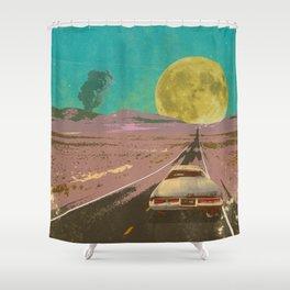 EVENING EXPLOSION II Shower Curtain