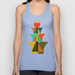 Whimsical bromeliad Unisex Tank Top