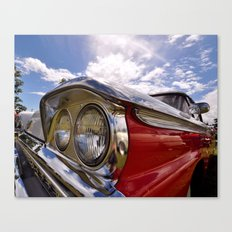 Classic 50's American Car Canvas Print