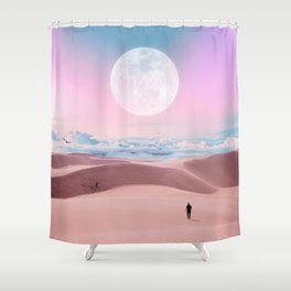 Dunes in the Sky Shower Curtain
