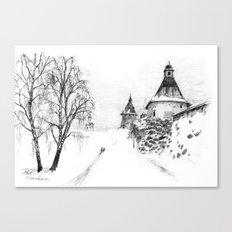 Solovki monastery SK03P Canvas Print