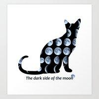 The Dark Side of the Moon Art Print