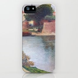 """Saint Peter Bridge"" by Henri-Jean Guillaume Martin iPhone Case"