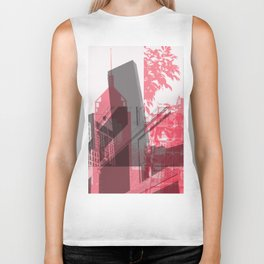 city life New york Biker Tank