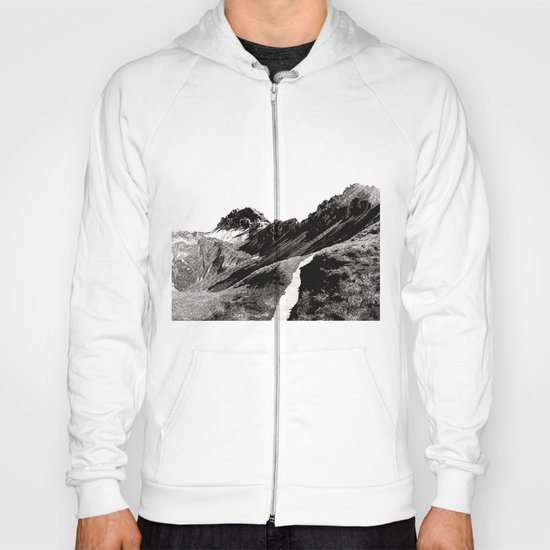 The road below the mountains Hoody