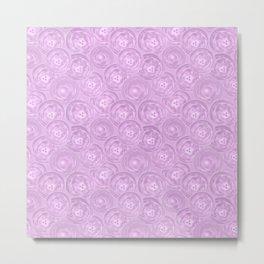 Purple anemones . Metal Print
