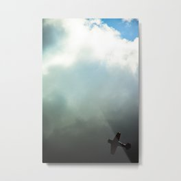 Aerobatics II Metal Print