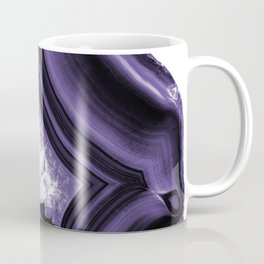 Ultra Violet Agate Chic #1 #gem #decor #art #society6 Coffee Mug