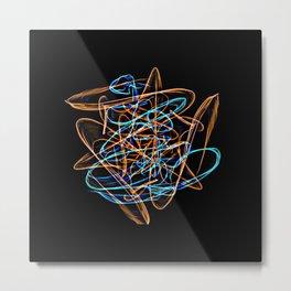 Silkweave / Neon Sigil 0 Metal Print