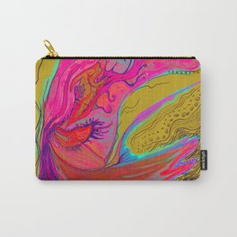 Metamorphosis with me-chartreuse Carry-All Pouch