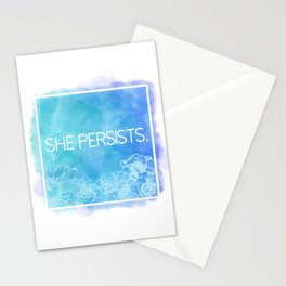 She Persists. Stationery Cards