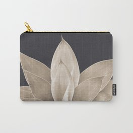 Sepia Agave #1 #tropical #decor #art #society6 Carry-All Pouch