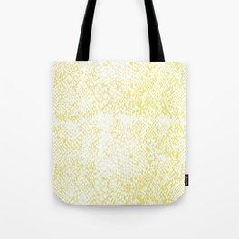 Snake Skin Limelight Tote Bag