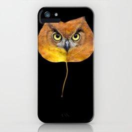 Autumn Owl-4 iPhone Case