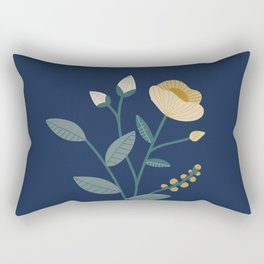 Flower Girl Rectangular Pillow