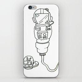 Space Sperm iPhone Skin