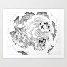 Shells of the Time Art Print