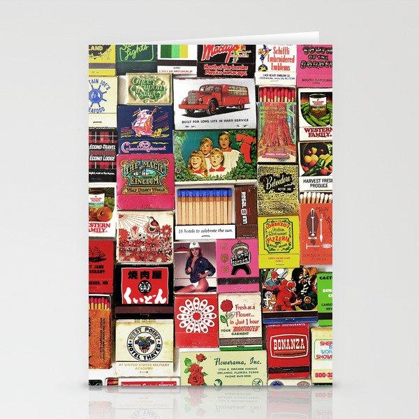Antique Matchbooks Stationery Cards