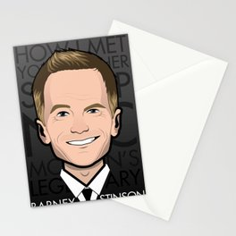 Barney Stinson - How I Met Your Mother Stationery Cards